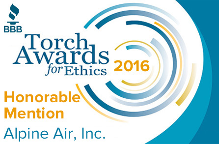 2016 Torch Awards for Ethics